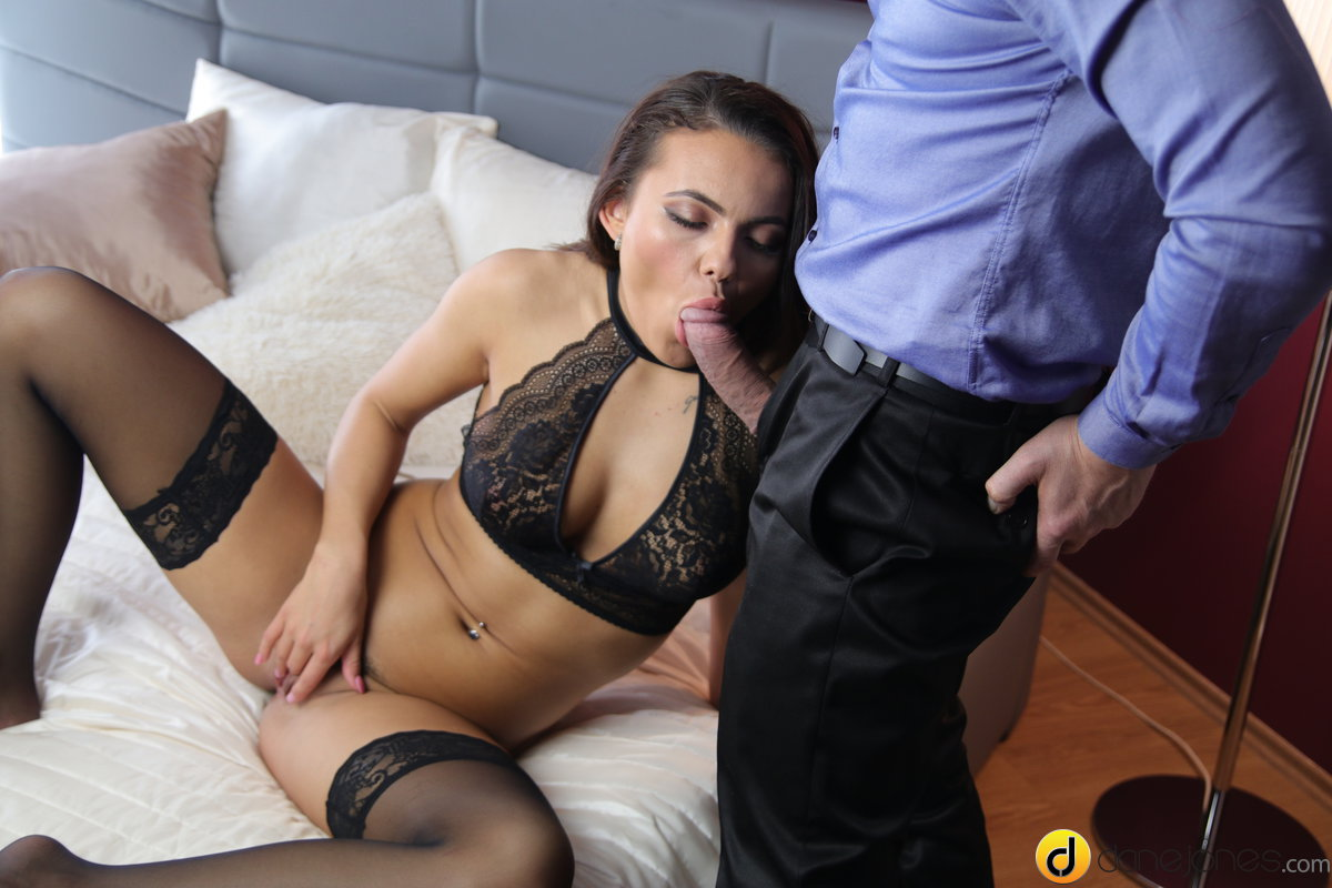 Stockings and lingerie sex fantasy Vanessa Decker